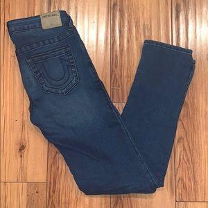 Authentic TRUE RELIGION Girls Jeans Sz 10